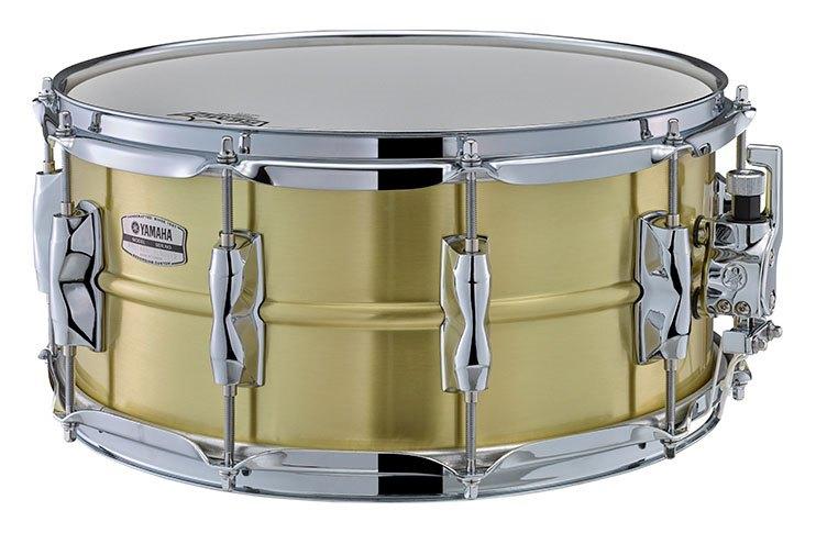 Brass Yamaha Recording Custom snares