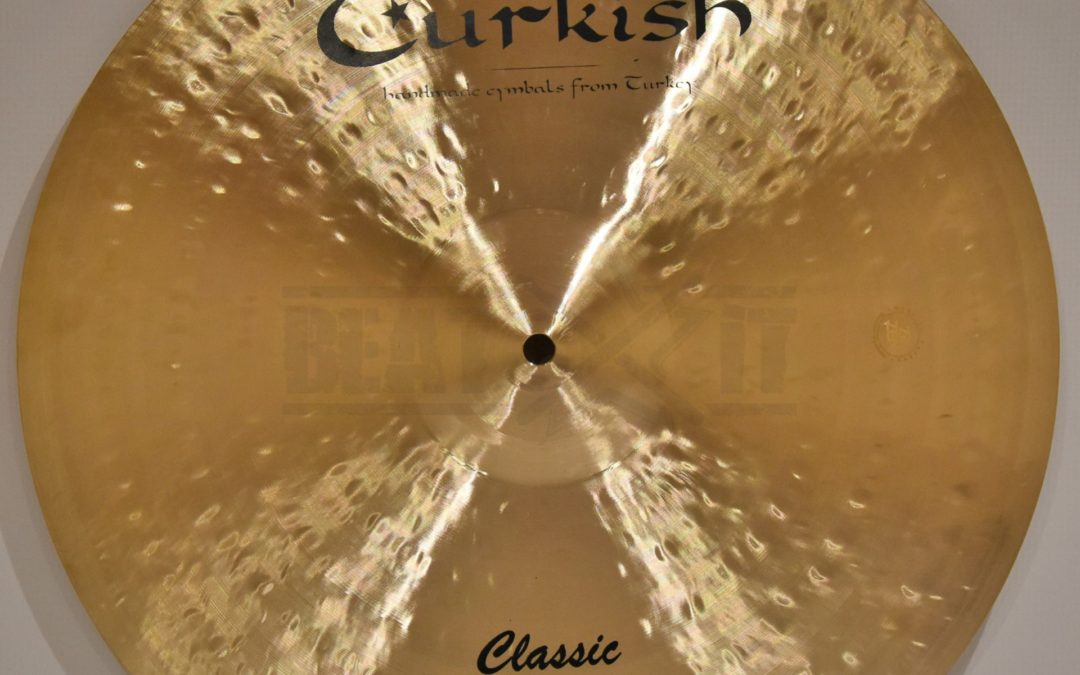 BeatIt Test: 16″ Turkish Classic Crash