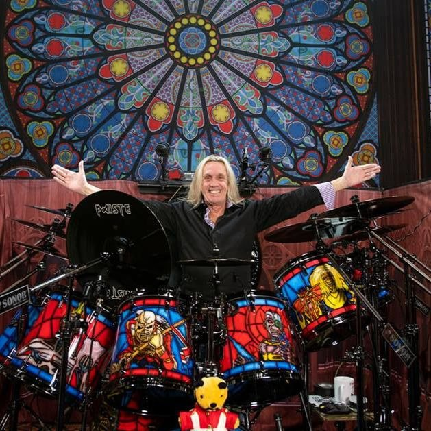Sonor and Nicko McBrain reveal drum kit for Iron Maiden tour
