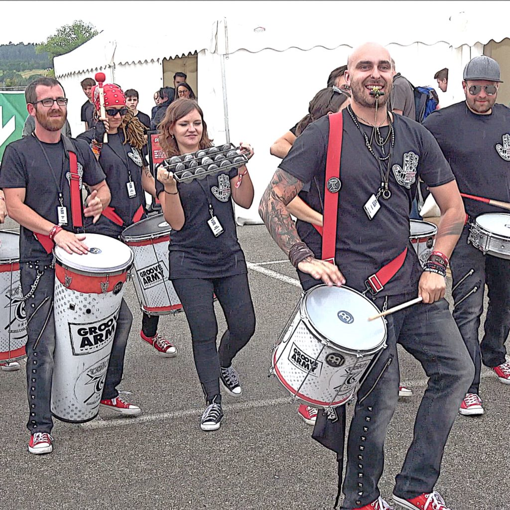 Tokhi & The Groove Army Meinl Percussion Festival 2018