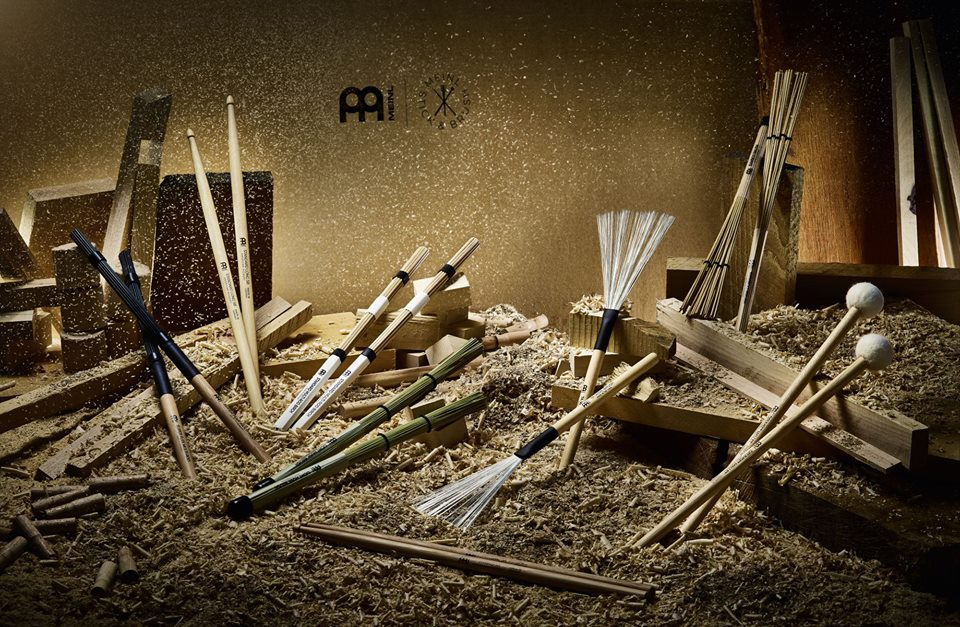 drum sticks and brushes from Meinl
