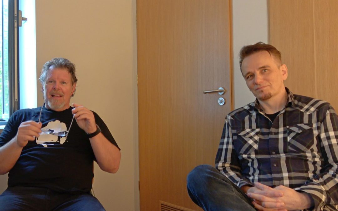 Gavin Harrison & Pat Mastelotto Interview for BeatIt