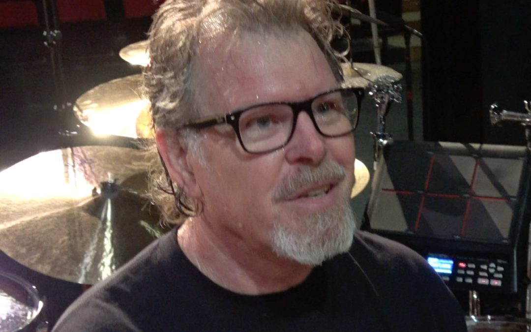 Pat Mastelotto's King Crimson 2018 World Tour Drum Kit