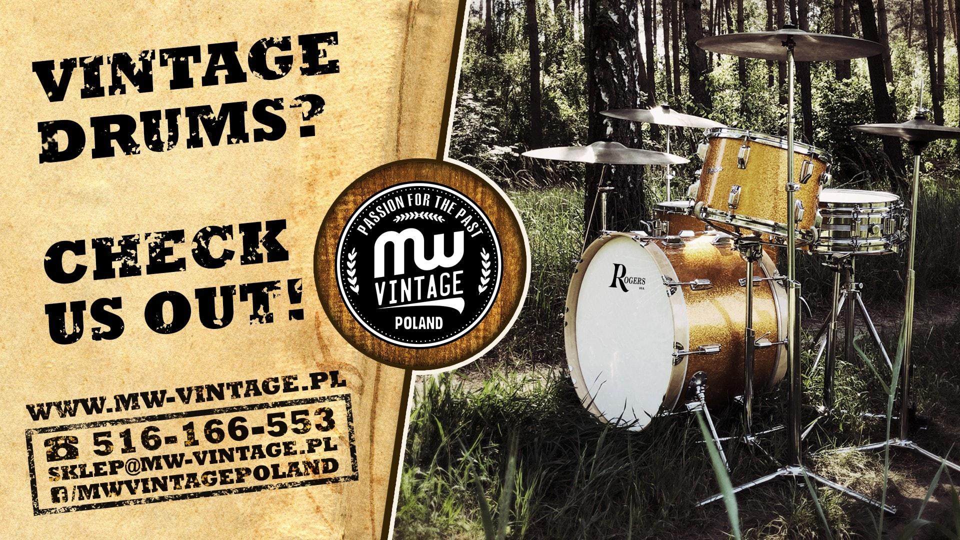 90s Fibes drum kit MW-Vintage