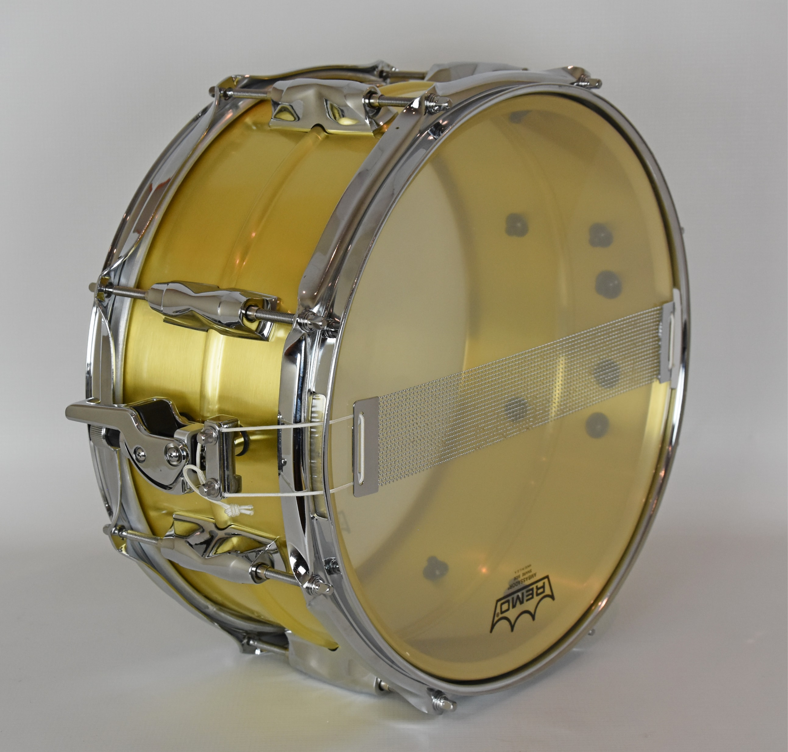 Yamaha Recording Custom Brass Snare test en.beatit.tv
