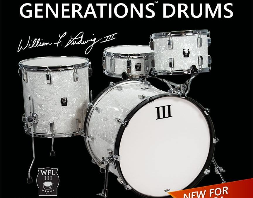 WFL III announce full drum kits