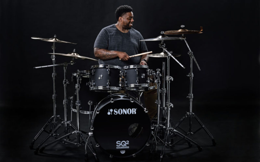 Aaron Spears in family of Sonor artists