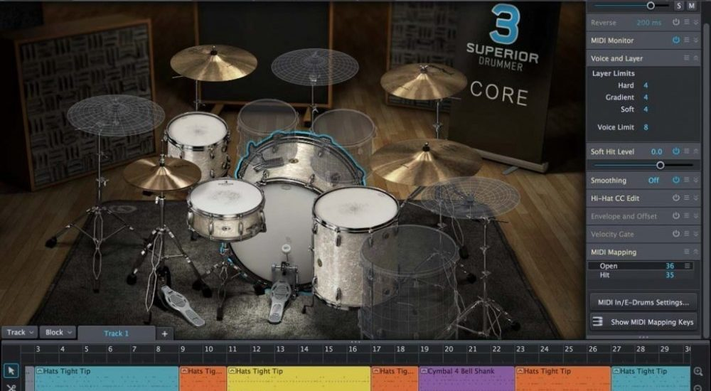 BeatIt Test: Superior Drummer 3