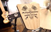 Magnobuddy - The world's first magnetic drummers brush holder