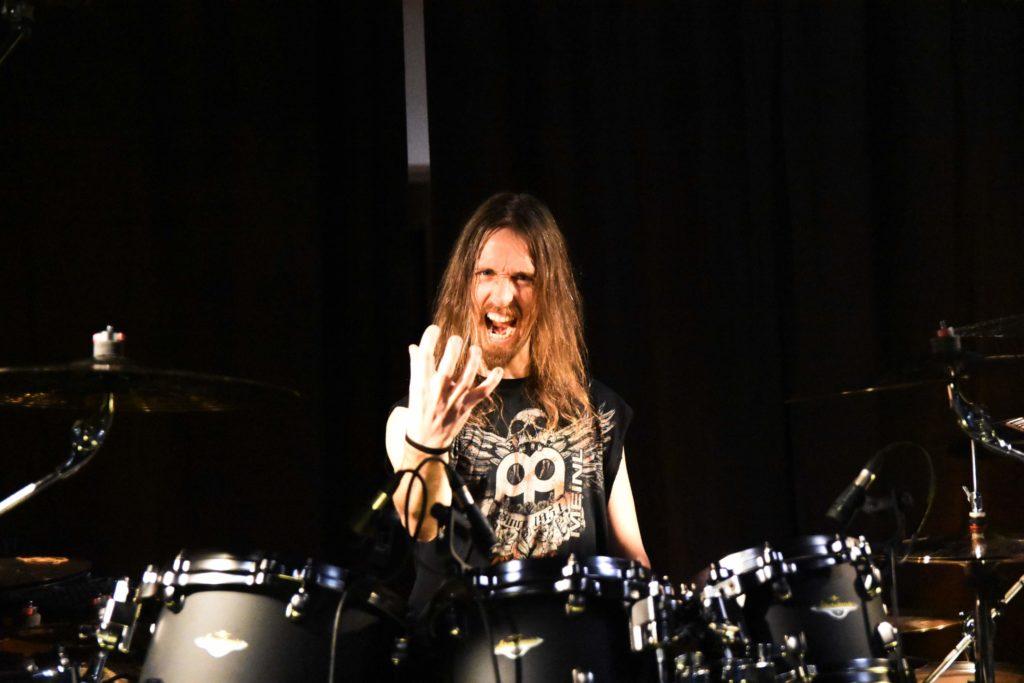 Dirk Verbeuren's drum kit