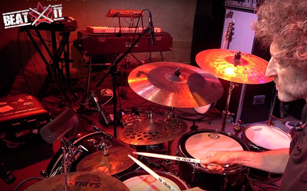 Jojo Mayer's Nerve 2018 European Tour drum kit