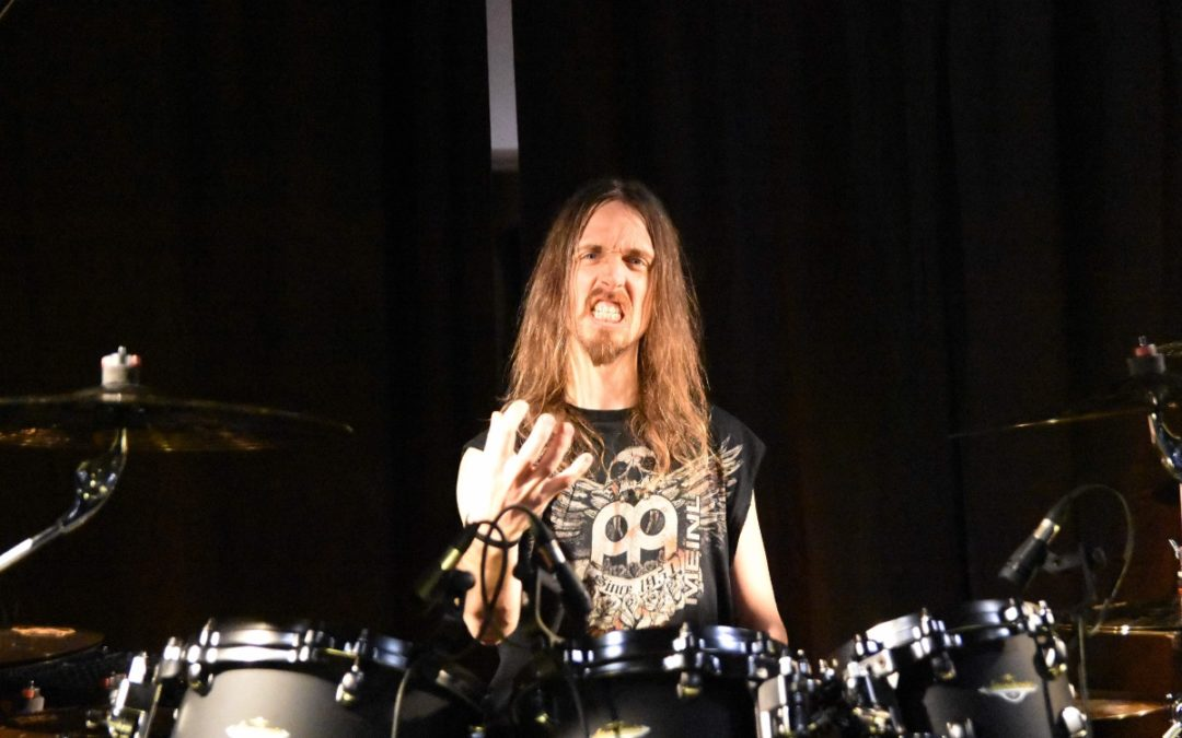 Dirk Verbeuren (Megadeth) Interview for BeatIt