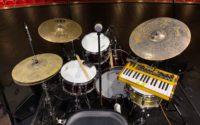 Josh Dion's drum kit