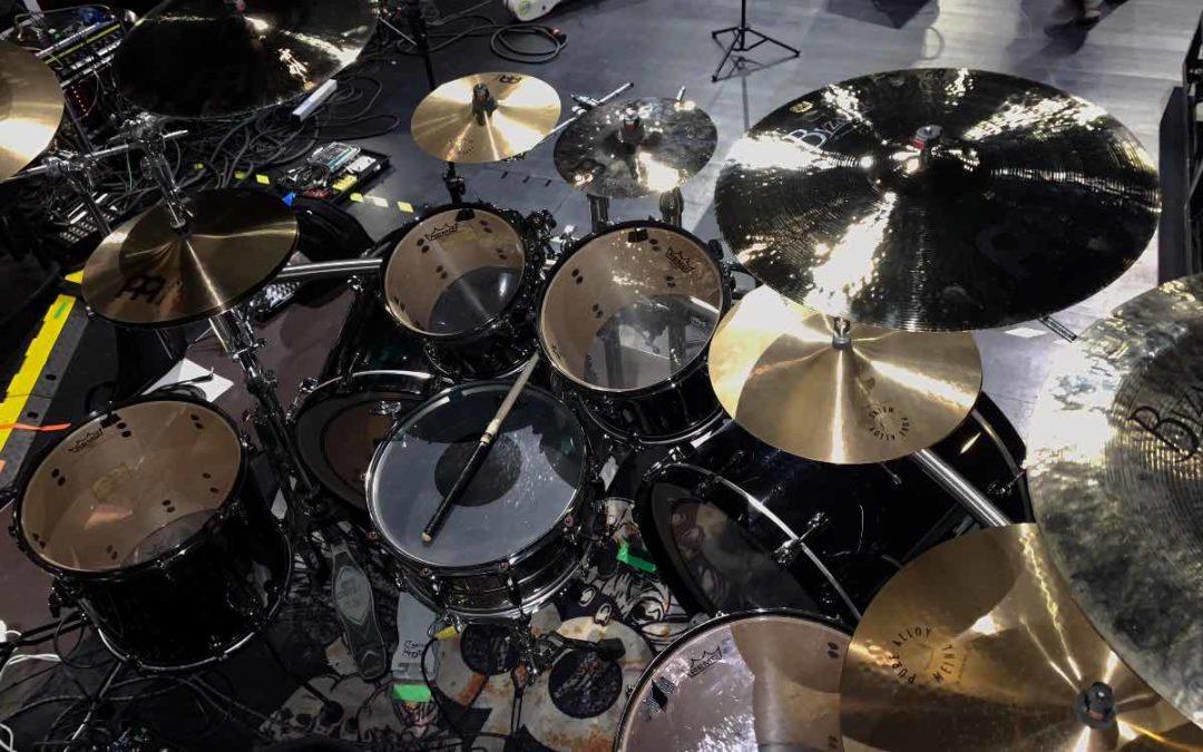 Kerim 'Krimh' Lechner's drum kit
