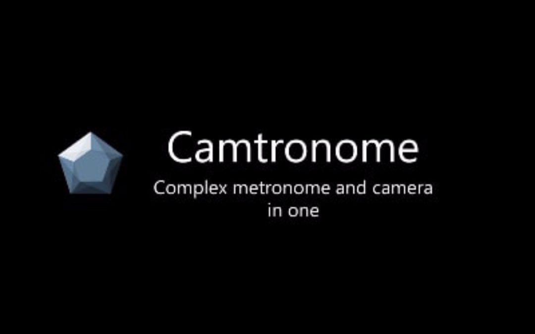 Camtronome 2.0: new version of metronome app