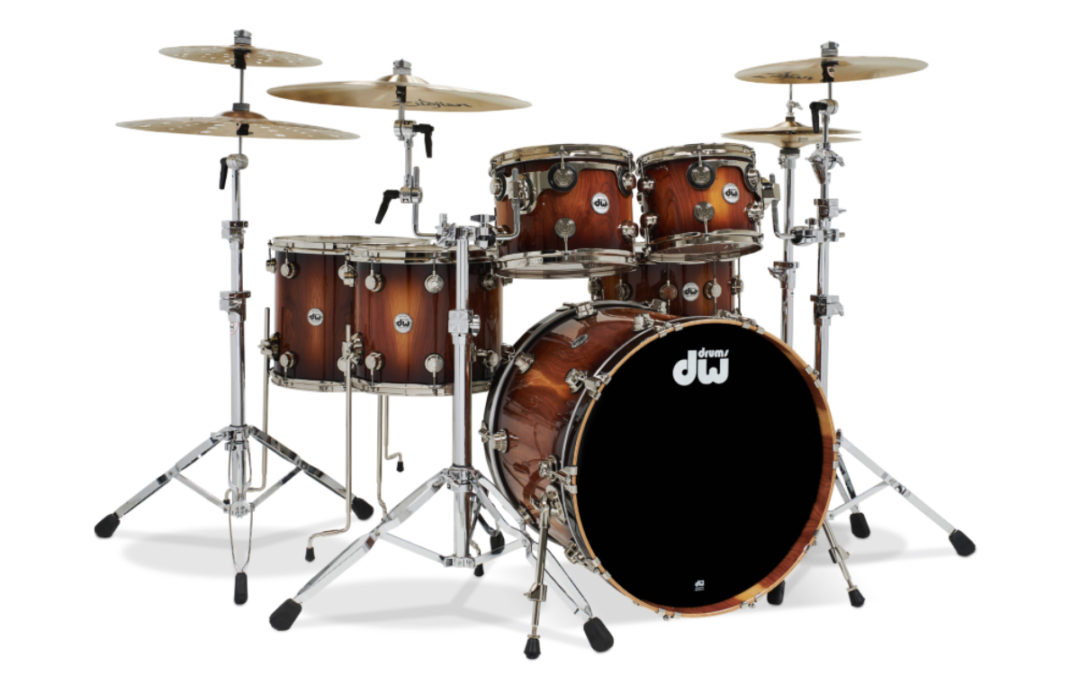 DW Crafts First-Ever Pure Almond Drumsets!