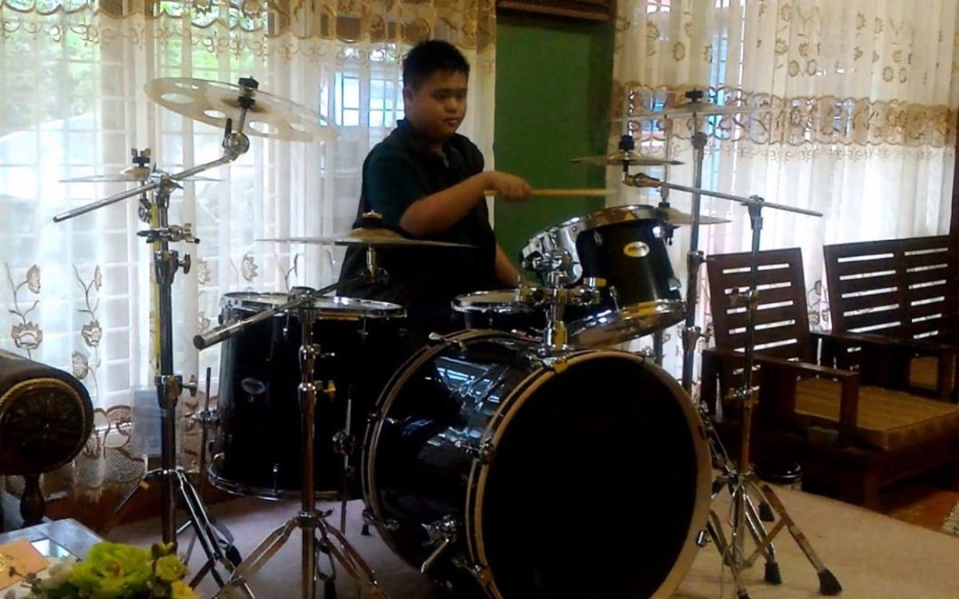 Drumming and children with Down's syndrome
