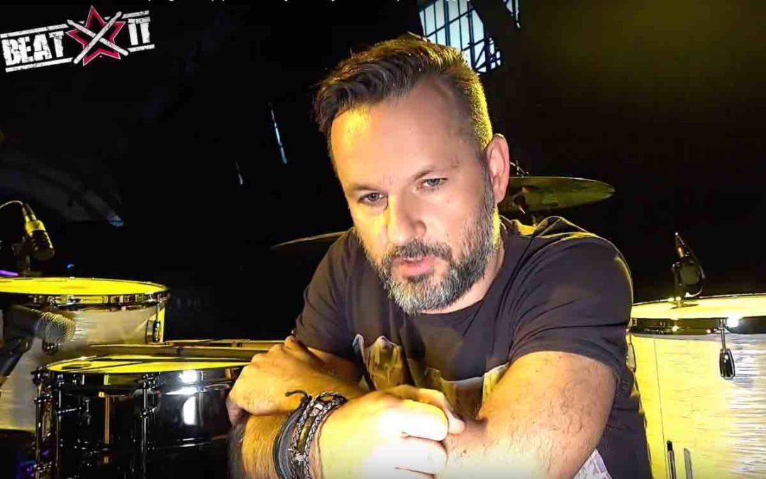 Robert Markiewicz (Ørganek) drum kit tour