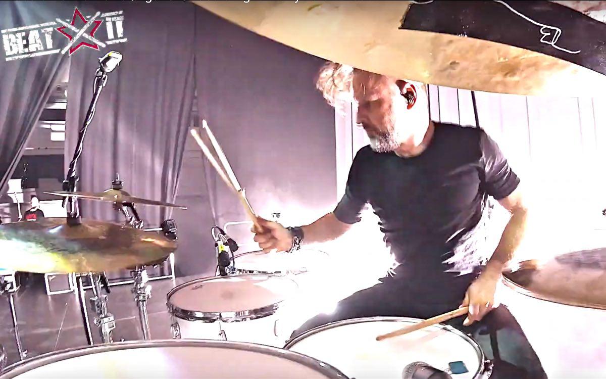 Robert Markiewicz (Ørganek) drum cam en.beatit.tv