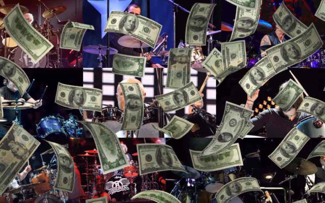 Top 10 richest drummers right now