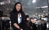 Brent Fitz (Slash) presents his drum kit