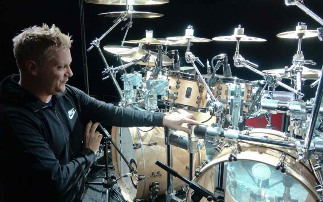 Craig Blundell's Steve Hackett Genesis Revisited World Tour Drum Kit
