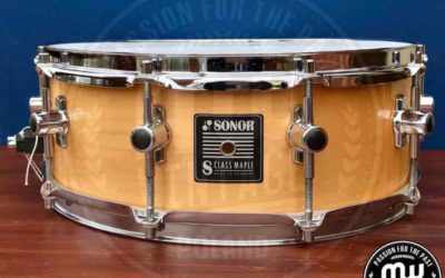 BeatIt Vintage Test: Sonor S-Class Maple snare drum