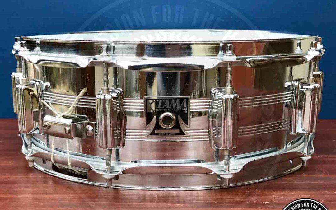 BeatIt Vintage Test: 14″ x 5″ Tama Imperialstar snare drum