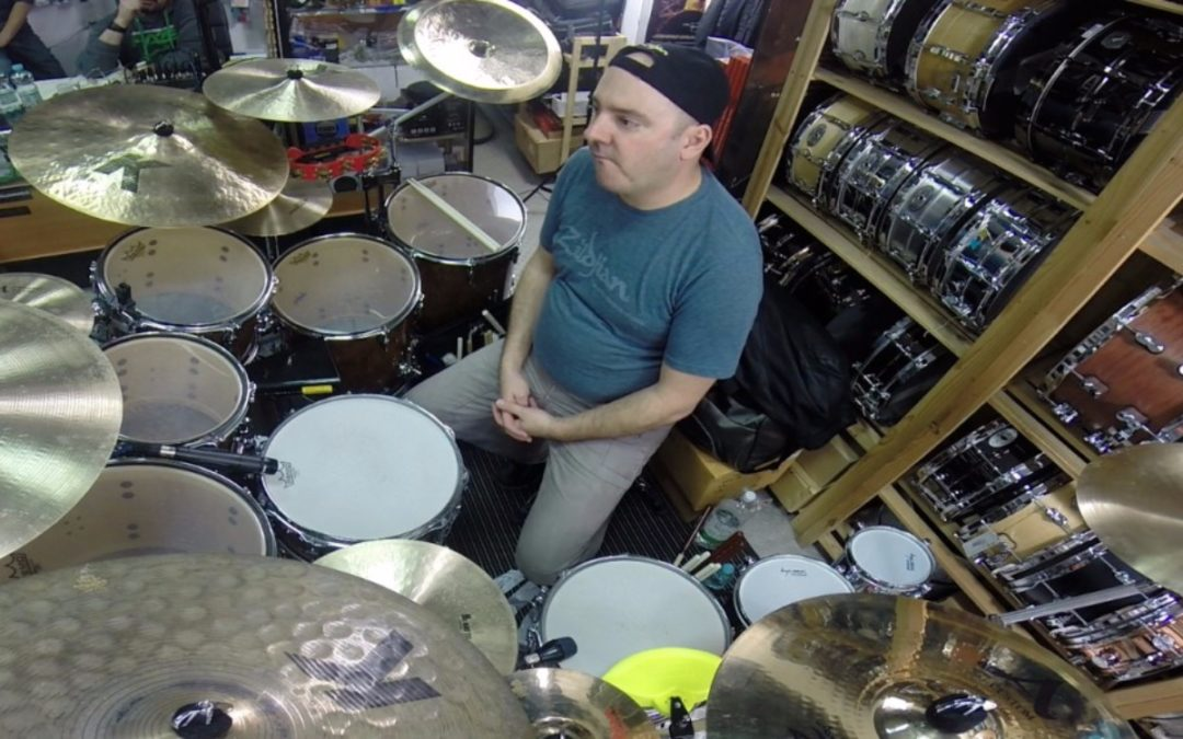 Pearl Drums will publish Tutorials made by Gabor Dornyei