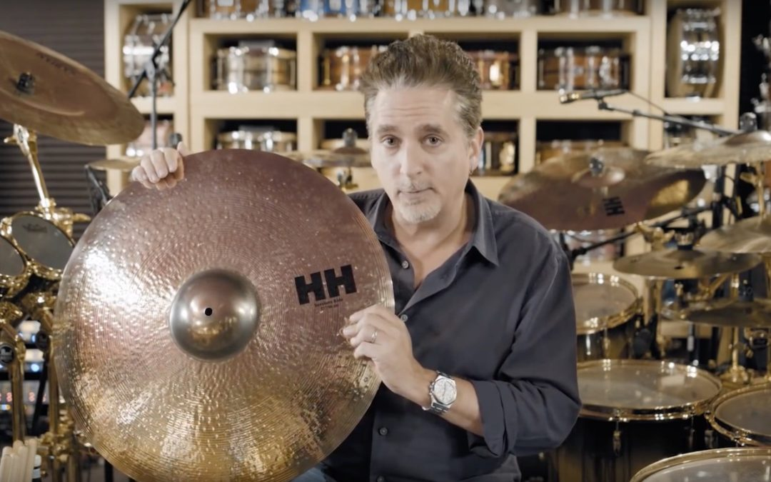 New Sabian HH Sessions RideCymbal signed by Todd Sucherman