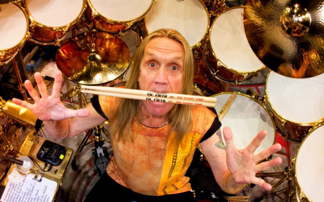 Nicko McBrain on replacing Clive Burr in Iron Maiden
