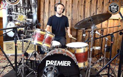 BeatIt Vintage Test: Premier Soundwave Drum Kit
