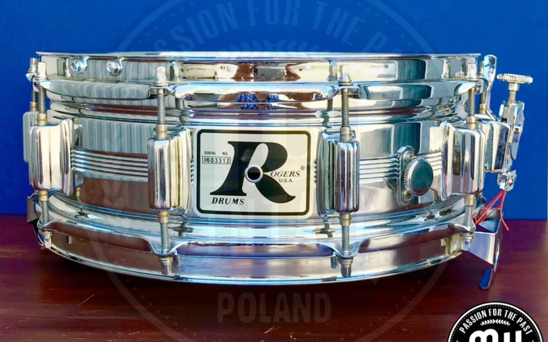 BeatIt Vintage Test: 14″ x 5″ Rogers Dyna-Sonic snare drum
