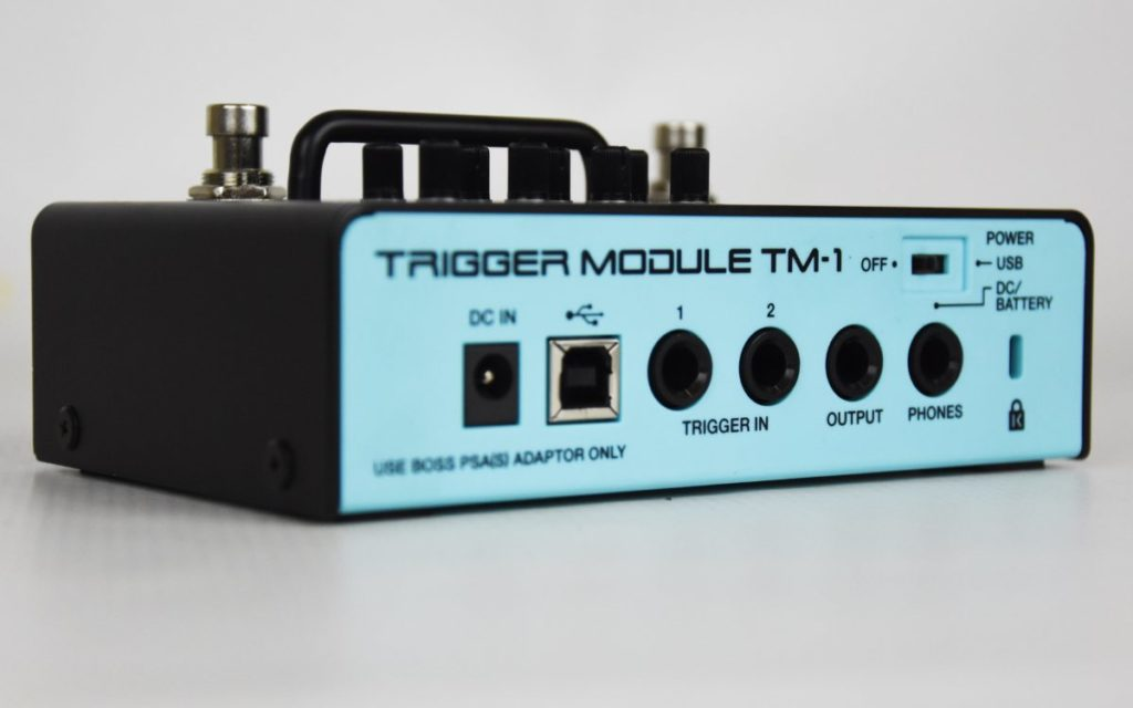Roland TM-1 trigger module test by en.beatit.tv