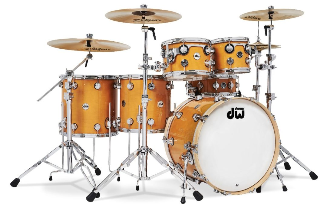 Reissued Santa Monica Shells Celebrate DW Drum Making History