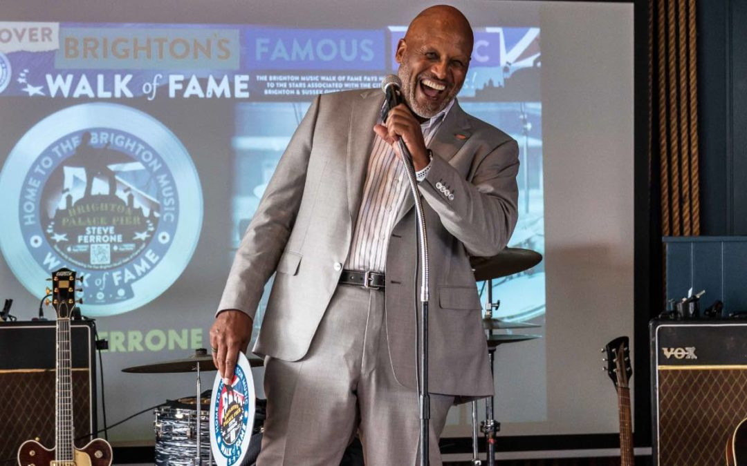 Steve Ferrone Receives UK Homecoming