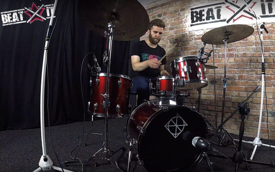 Test BeatIt: Dixon Spark PODSP 416 Drum Kit