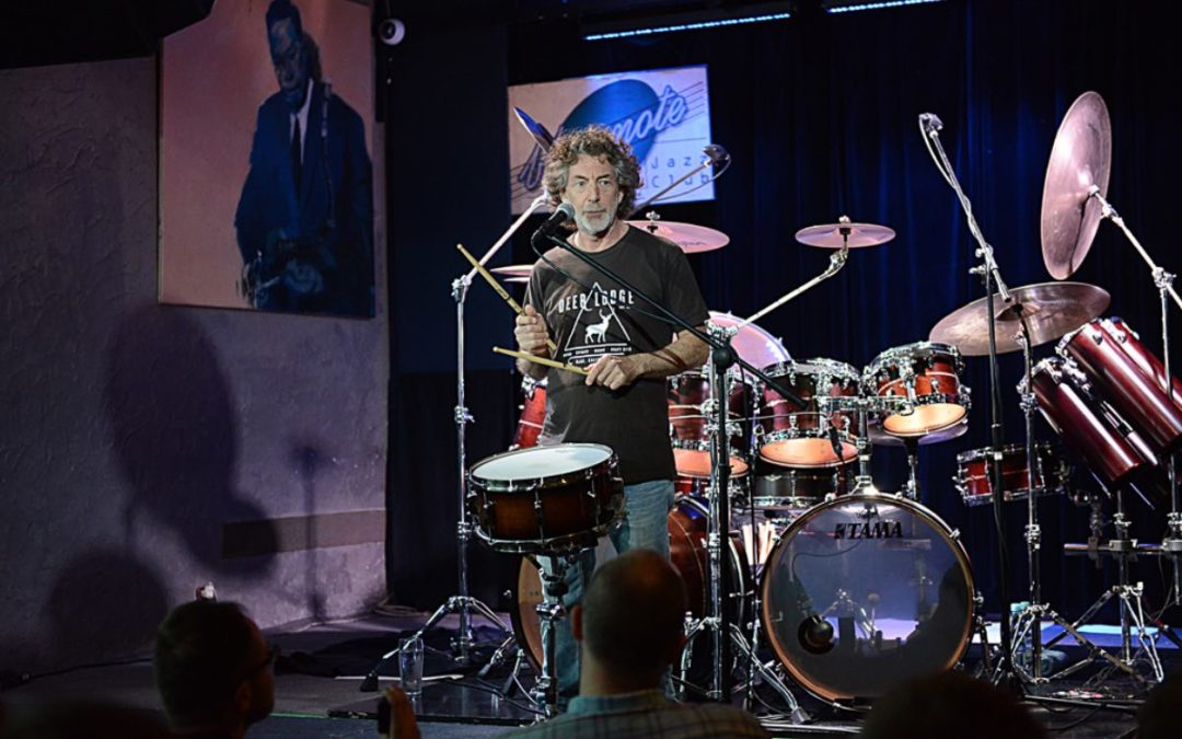 Simon Phillips: masterclass in Poznań, Poland.