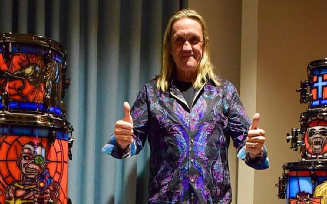 Nicko McBrain Leaves SONOR For British Drum Co.