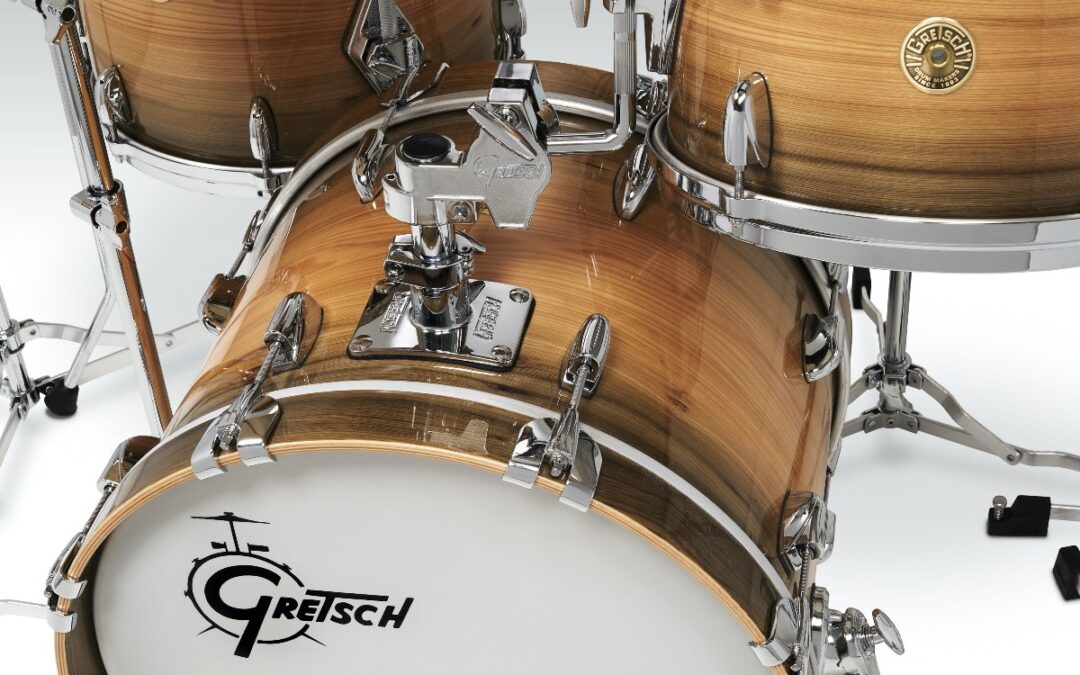Gretsch Drums Introduces USA Custom Limited Edition River Cypress Kit