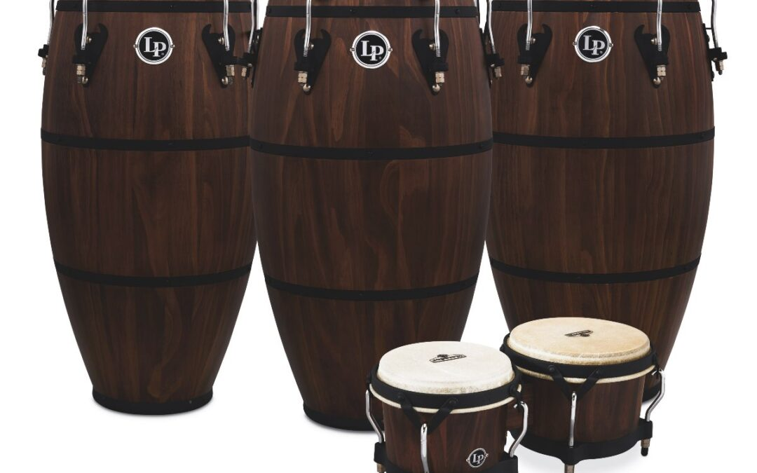 Latin Percussion Introduce the LP Matador Whiskey Barrell Congas and Matching Bongos