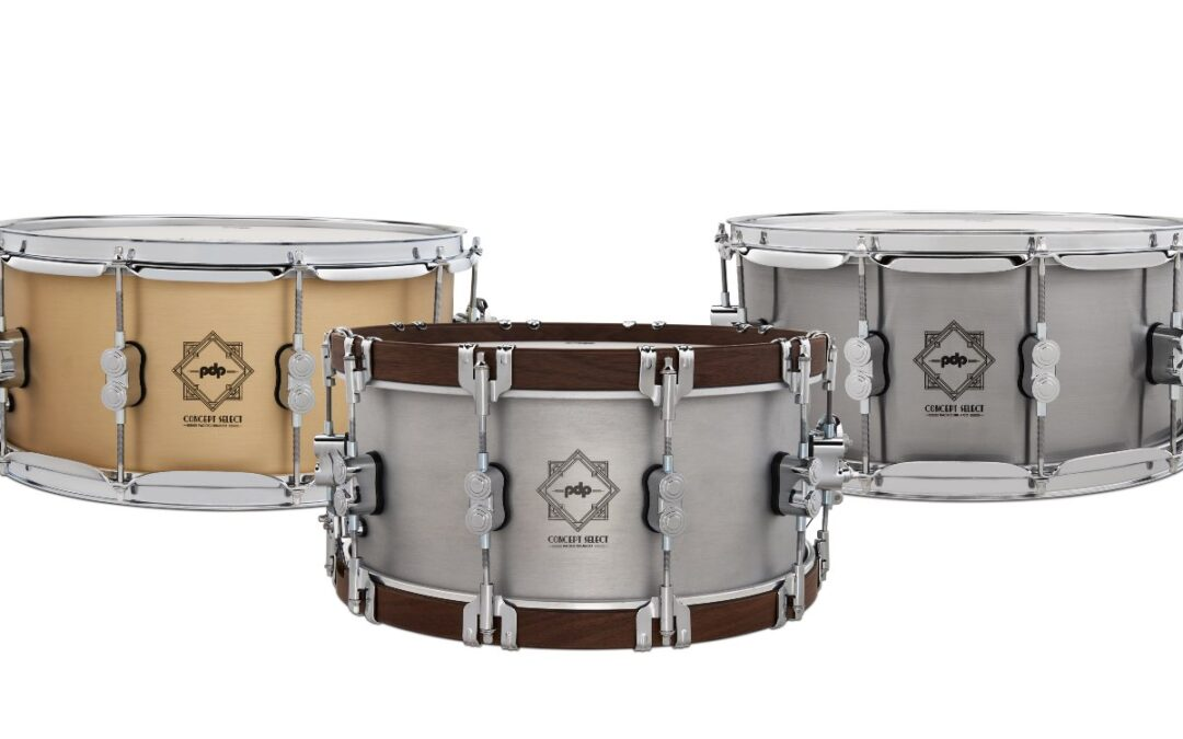 DW Expand The PDP Concept Select Snares Range