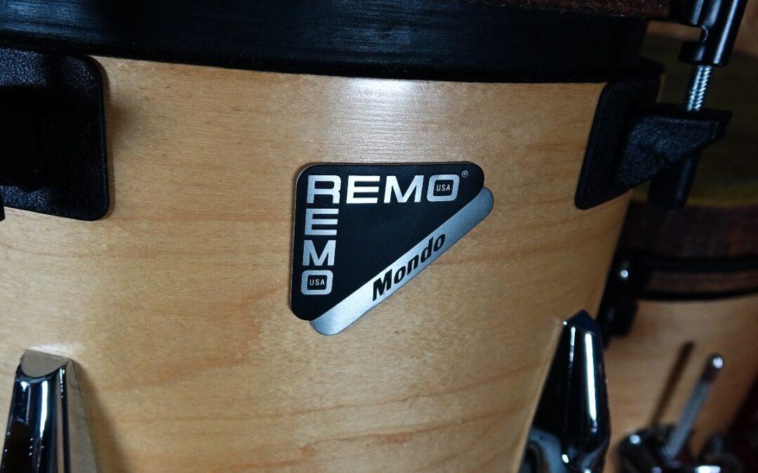Vintage Test BeatIt: Remo Mondo drum kit