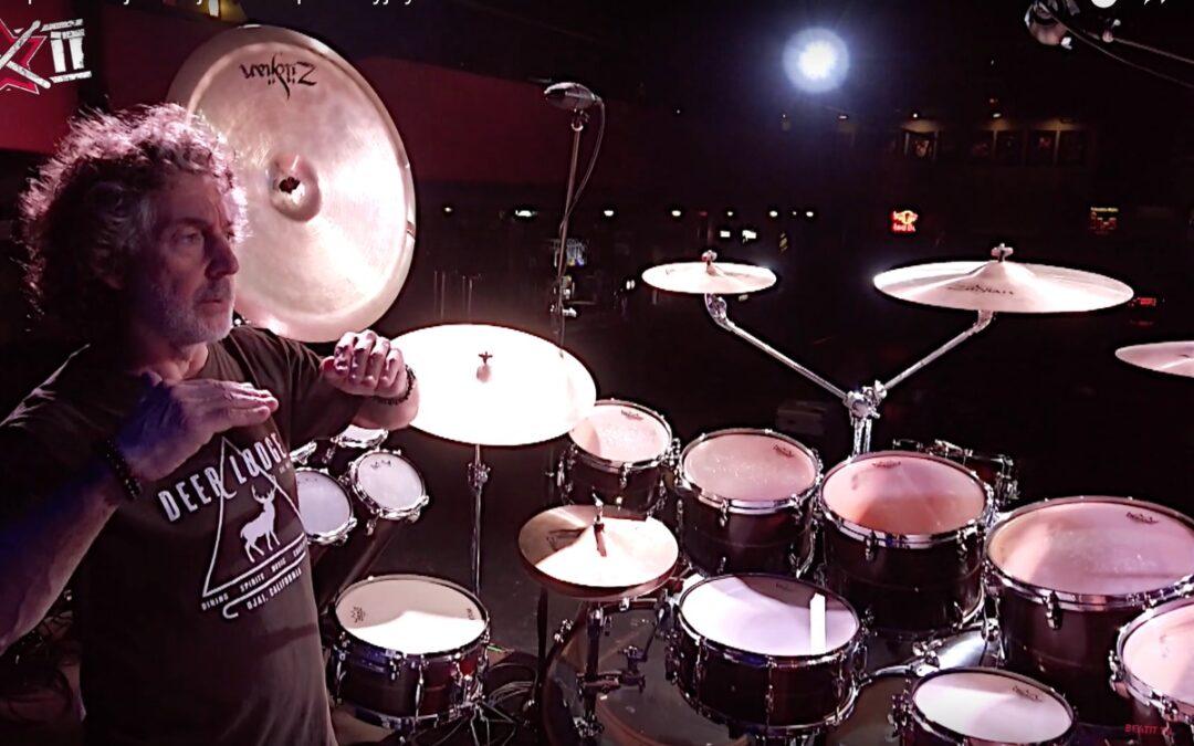 Simon Phillips presents his drum kit