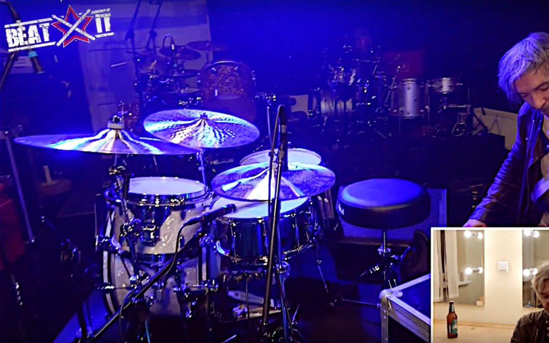 Ash Soan presents his drum kit