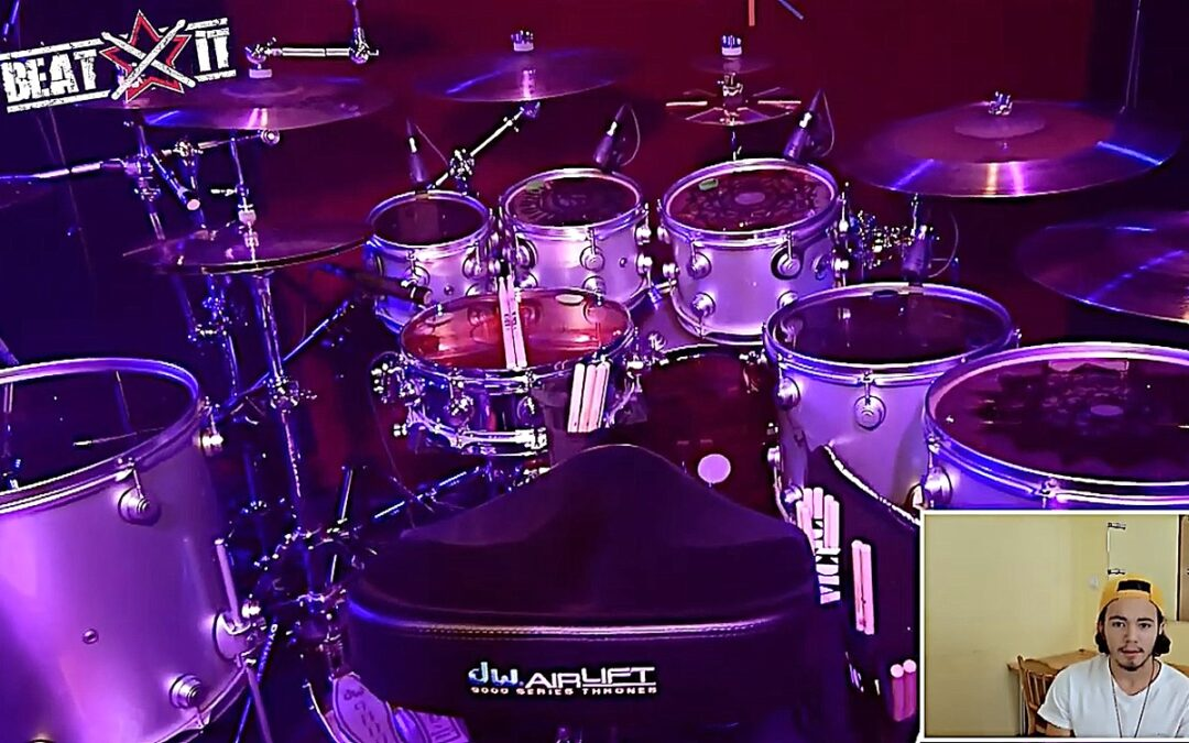 Igor Falecki presents his drum kit
