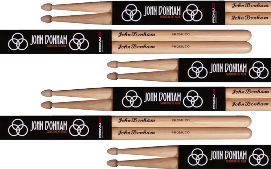 John Bonham Signature Drumsticks Re-issued!
