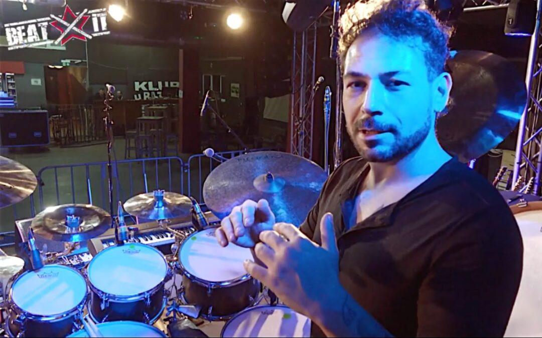 Mirkko DeMaio presents his drum kit