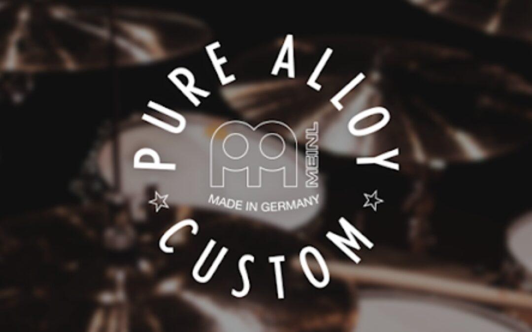 New: Meinl Pure Alloy Custom