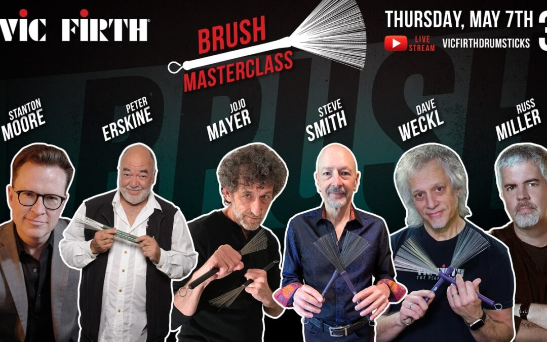 Online Brush Masterclass from Vic Firth